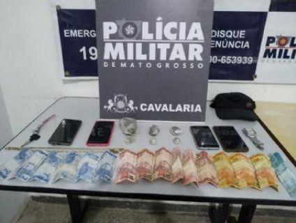 Irmãos são presos por tráfico de drogas em Cuiabá
