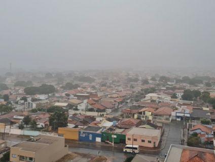 Cuiabá deve receber nova frente fria; Inpe prevê mínima de 8ºC (Crédito: Reprodução)