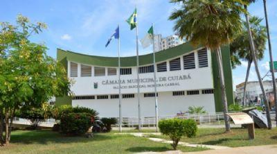 Câmara de Cuiabá fecha para desinfecção depois de surtos de covid