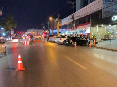 13 motoristas são presos em Operação Lei Seca na madrugada deste sábado em Cuiabá