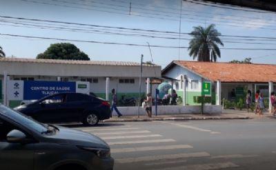 Centro de Saúde é desinfetado após corpo passar noite no local
