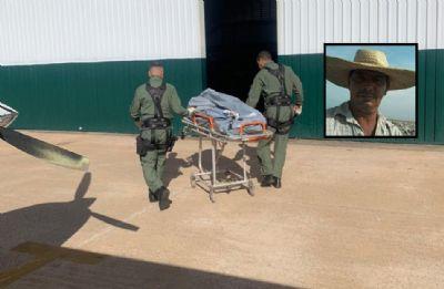 Ciopaer resgata corpo de trabalhador morto em fazenda no Pantanal há vários dias